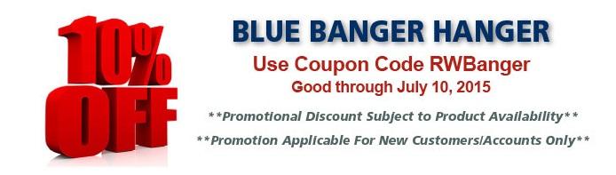Blue Banger Hanger
